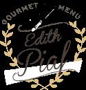 Picnic menu Edith Piaf