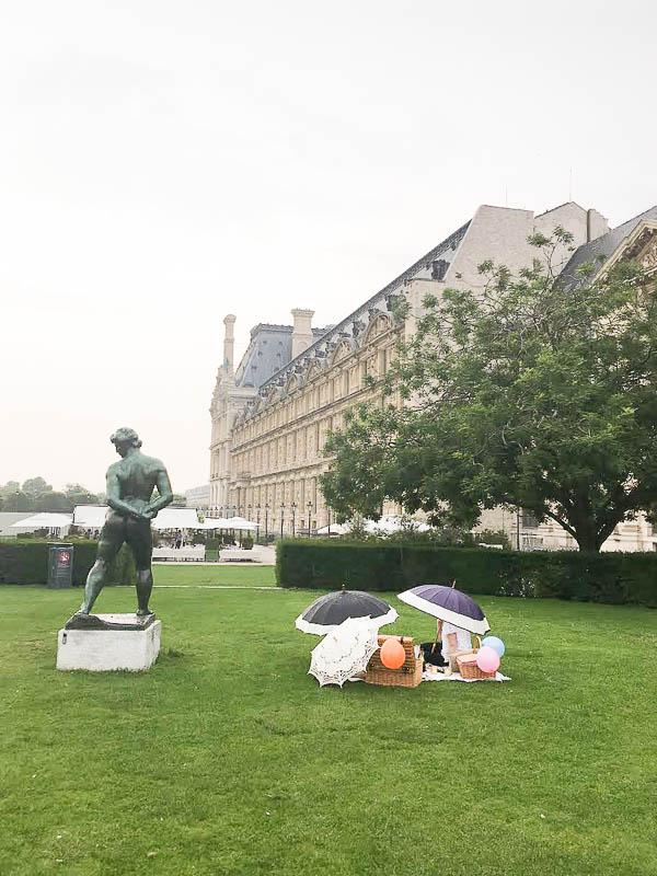 Paris vegan picnic