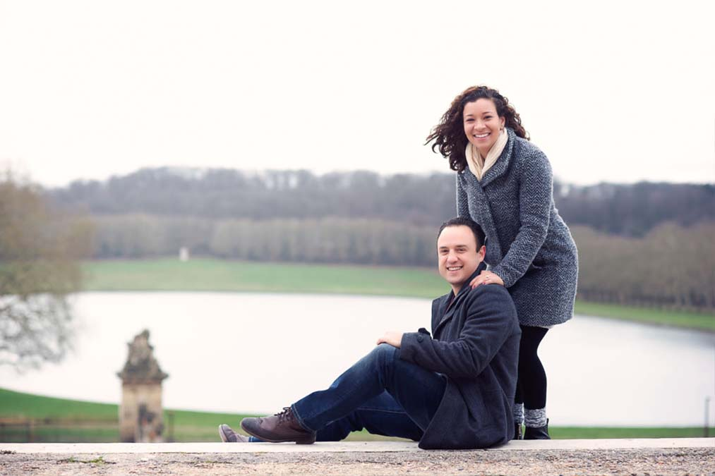 Versailles pre-wedding photo session