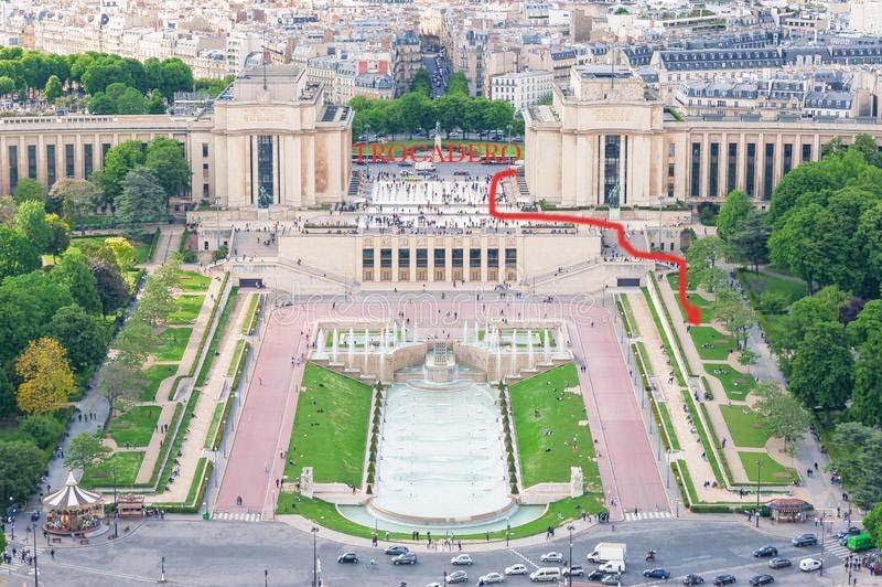 Trocadero square