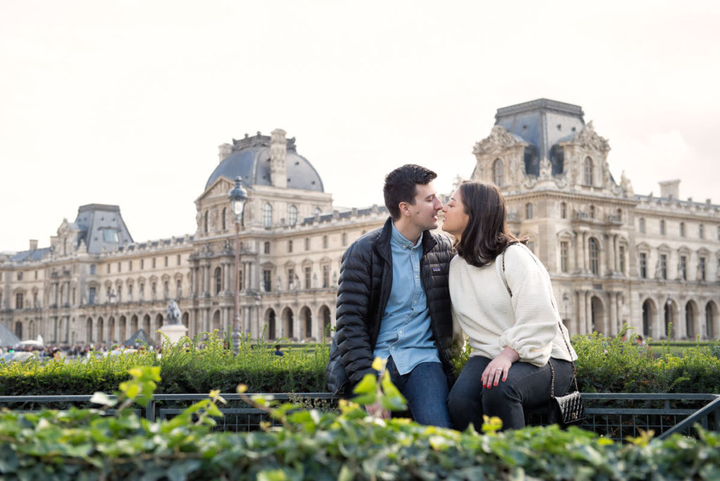 Paris engagement photo session