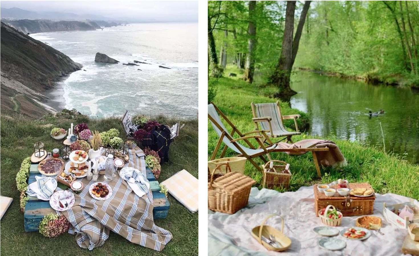 Picnic idea in Normandy