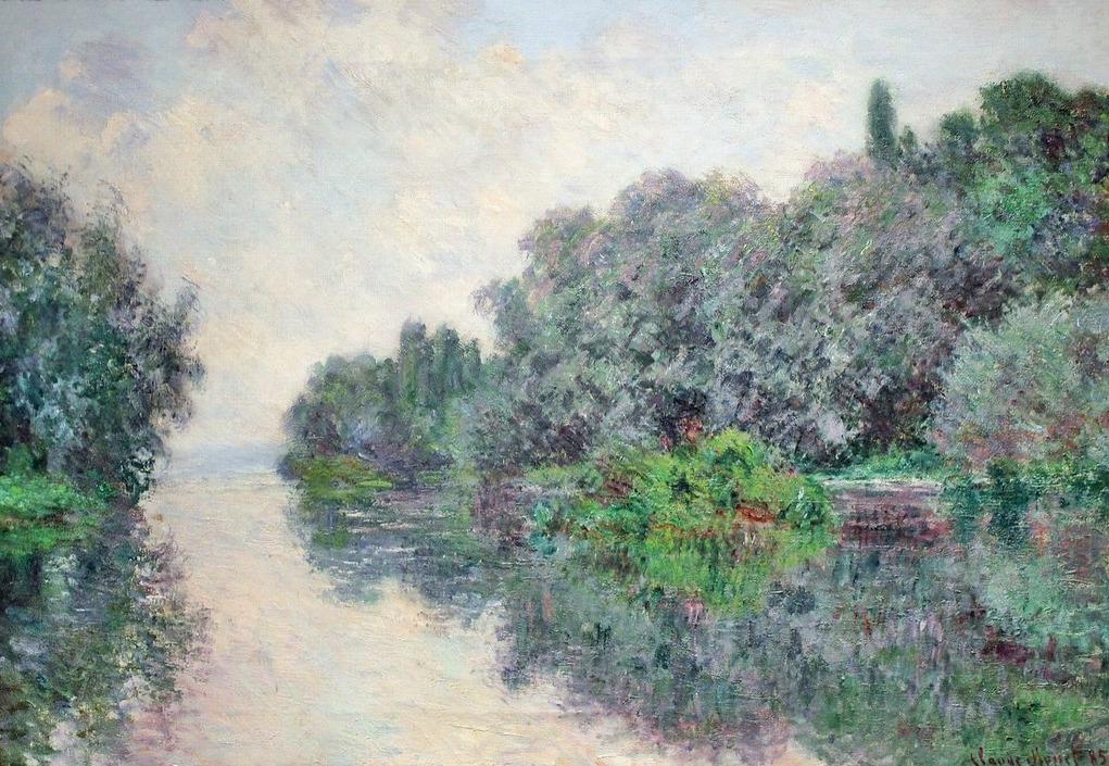 giverny seine river Picnic