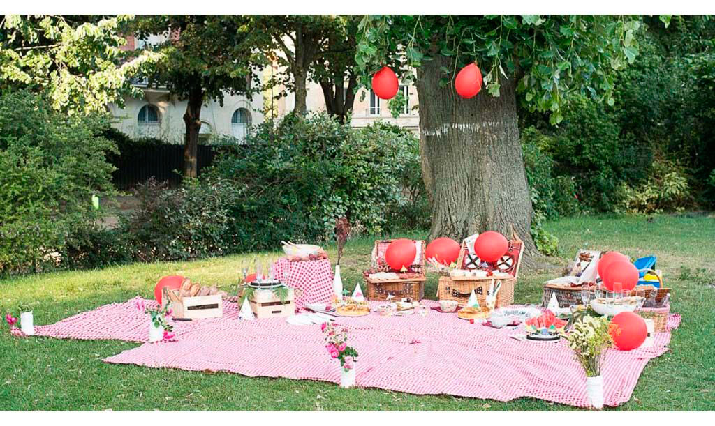 Paris birthday picnic