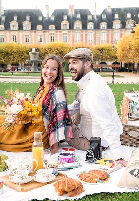 Gourmet Paris picnic