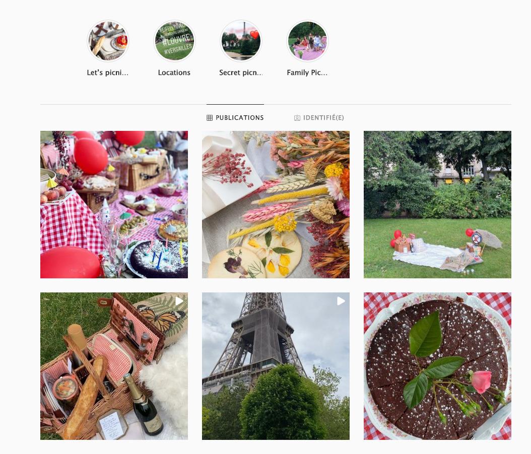 love picnic paris instagram page