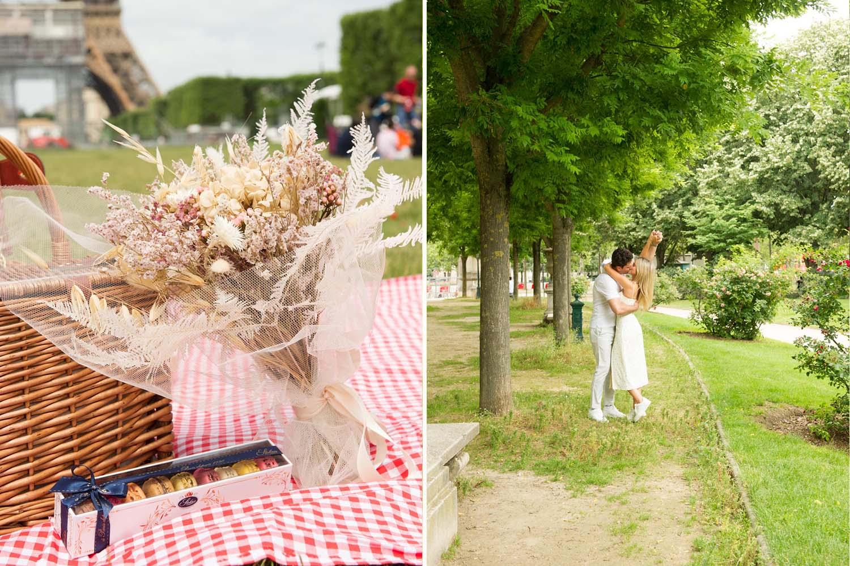 paris romantic proposal
